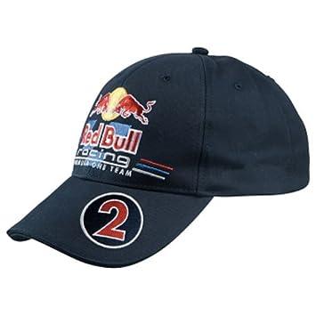 abbd14c1aca Red Bull Racing Mark Webber Driver Cap Nummer 2 - Gorra