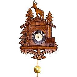 Alexander Taron Importer 4358 Engstler Weight-driven Cuckoo Clock, Full