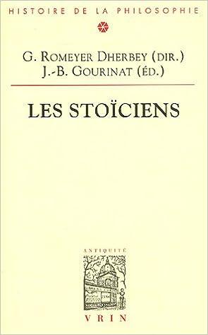 Lire en ligne Les Stoïciens epub pdf