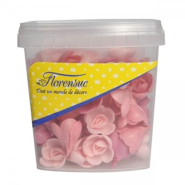 - Red Fruit Flavour Wafer Roses - Pack of 72