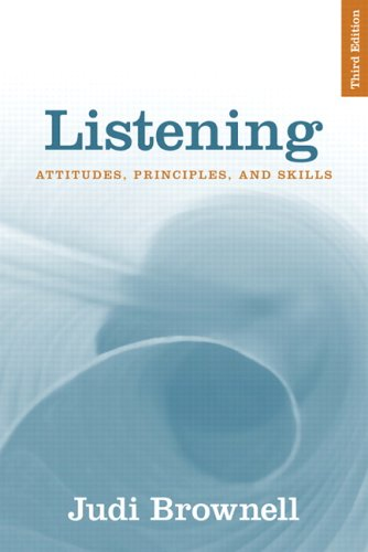 Listening: Attitudes, Principles, and Skills (3rd Edition)