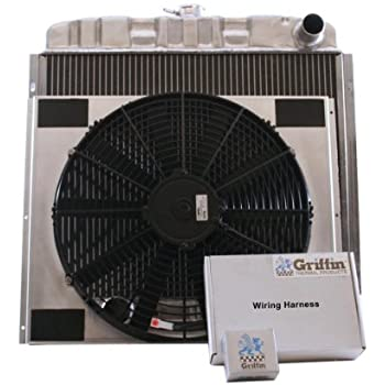 Griffin Radiator CU-70054 ComboUnit Radiator and Electric Fan Kit