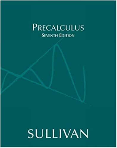 Precalculus (7th Edition): Michael Sullivan: 9780131431201: Amazon ...