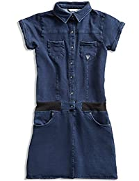 GUESS Short-Sleeve Denim Dress (7-16)
