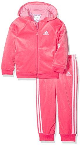 adidas anzug baby pink