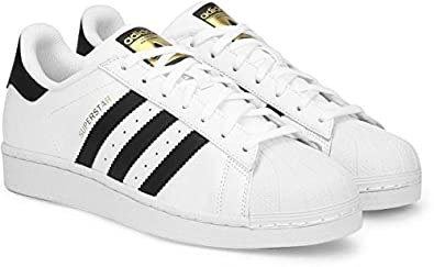 Adidas Unisex White Sneakers (9.5)