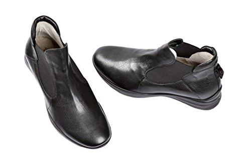 Think! Think Eiwogg Stiefelette in schwarz 1-81045-00 - Botas de cuero para mujer negro negro negro - negro