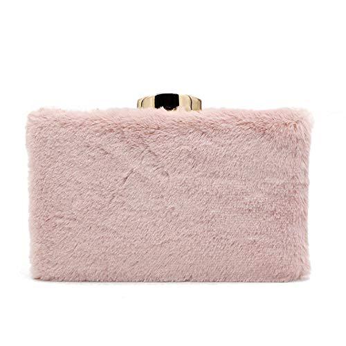 Felpa Otoño Con Sra El Barra Partido Embrague Y Del Monedero Señoras Las Banquete Moda Pink Mango Paquete La Invierno Bolso De vTcqOv