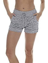 Soft and Comfy Activewear Lounge Shorts with Pockets and...