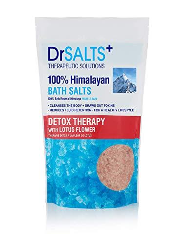 Dr SALTS Himalayan Bath Salts Detox Therapy with Lotus Flower, 1 kg