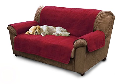 Furhaven Pet Products Home Loveseat Protector, Burgundy