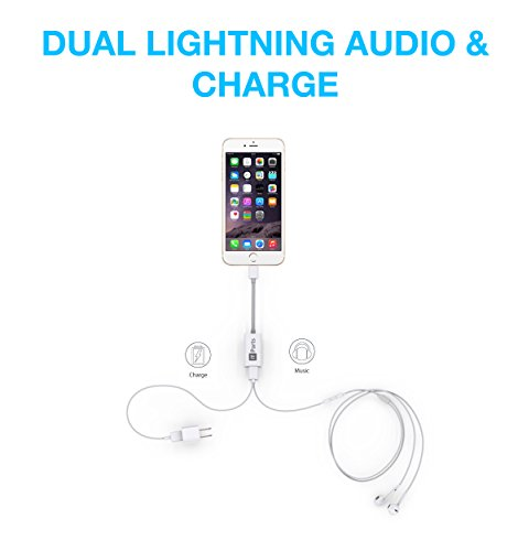 iTParts Lightning Audio + Charge & Sync DoubleStar for iPhone 7 and...