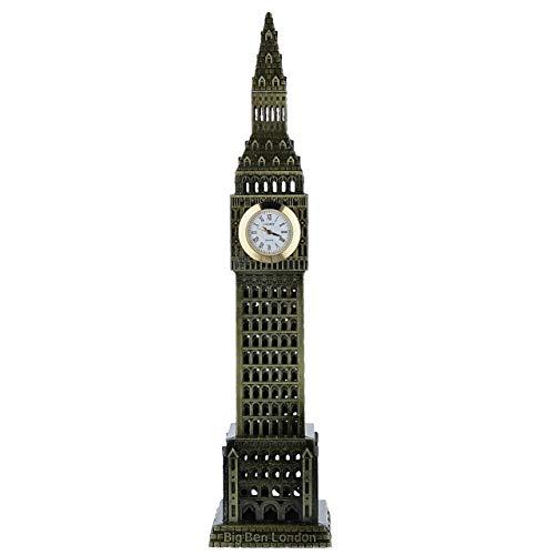 (Miniature Big Ben Novelty Quartz Movement Desktop Collectors Clock TM1)