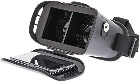 VR Gafas Virtual Reality 3d de lente de 2 fases 360 Smartphone ...