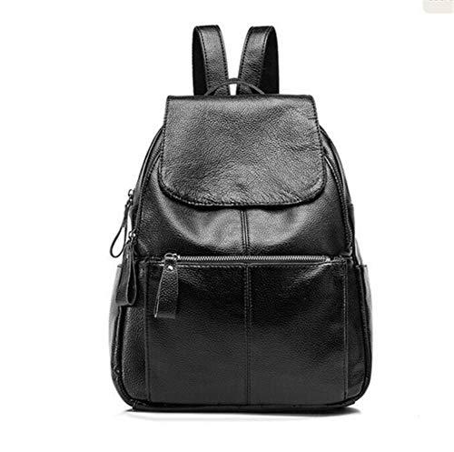 VHVCX Casual Black Zaino Donne Fashion borsa ragazze Borse da Bagpack viaggio Schoolbag nero femminili di Zaino donne Zaini TT5wpxqtr