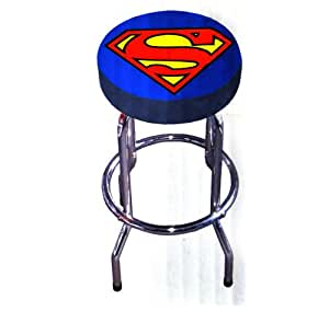 Superman taburete de la barra