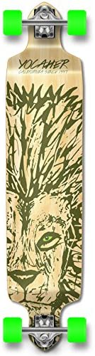 Yocaher Spirit Lion Longboard Complete Skateboard Cruiser – Available in All Shapes Drop Down