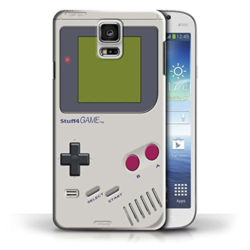 STUFF4 Phone Case / Cover for Samsung Galaxy S5/SV / Nintendo Game Boy Design / Games Console Collection