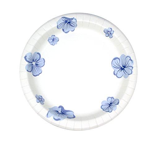 Buy blue flower plates