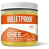 Grass Fed Ghee, 13.5 Oz, Bulletproof 100% Grass Fed, Pasture Raised Clarified Butter Fat, Keto, Paleo, Lactose Free, Casein F