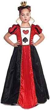 Disfraz Reina de Corazones niña Infantil para Carnaval (10-12 años ...