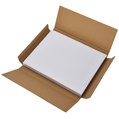 Large Product Image of MFLABEL Half Sheet Self Adhesive Shipping Labels for Laser & Inkjet Printers, 200 Count