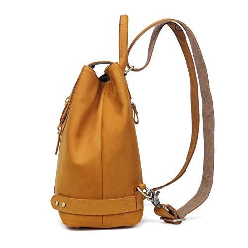 da Zaino casual in per donna Waveni scolastici pelle colore marrone viaggi marrone A1I7Bwdnqn