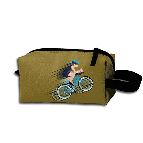 Makeup Cosmetic Bag Fitness Bike Zip Travel Portable Storage Pouch For Men Women -