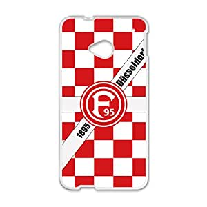 Th eFortuna D¨¹sseldorf Logo Cell Phone Case for HTC One M7