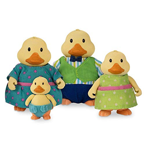 - Li'l Woodzeez Quickquack Duck Family 5 Piece Set