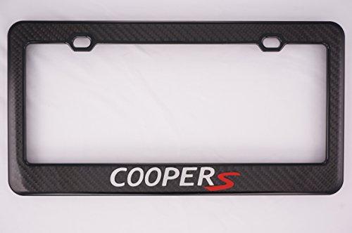 Mini Cooper S Carbon Fiber License Plate (Mini Cooper S Carbon Fiber)