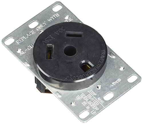 Cooper Wiring Devices 1263BOX Flush Receptacle
