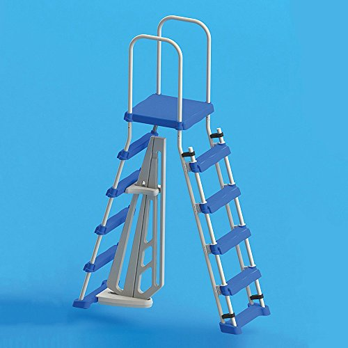 Swimline Above Ground Pool A Frame Ladder with Barrier for 48 Inch ...