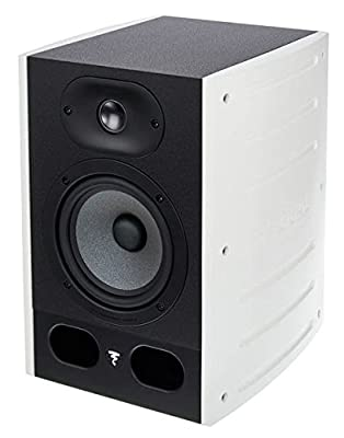Focal Alpha 50 Active 2-Way Near Field Professional Monitoring Loudspeaker - Each (White) by Focal