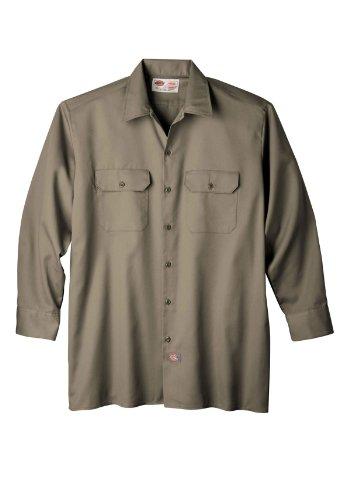 Dickies Long-Sleeve Work Shirt-Big & Tall