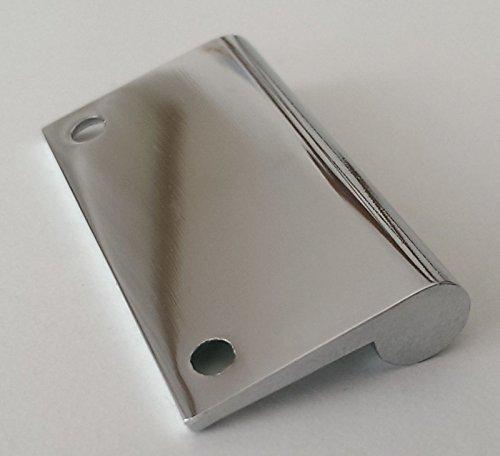 Spiegelschrankgriff Türgriff Spiegelschrank BA 32mm verchromt Schrankgriff *514
