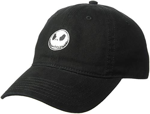 Music Music Black Cap - Nightmare Before Christmas  Jack Skellington Baseball Cap