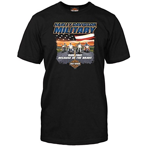 Harley-Davidson Short-Sleeve T-Shirt - Overseas Tour | Ride Free -