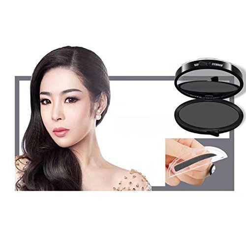 Coohole Lazy Fashion Makeup Eyebrow Powder Brow Stamp Brow Powder Makeup, Hot Sale! (0.13 Ounce 100% Natural)