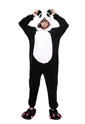 [LATH.PIN Unisex Adult Kigurumi Onesie Dragon Dinosaur Pajamas Halloween Costume (M (Fits 161-170cm),] (Make Your Own Halloween Costume With Clothes)