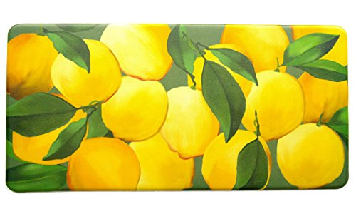 Kitchen Anti-Fatigue Mats - Lemons, 20'' x 39'', 1/2'' thick