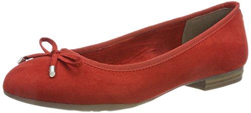 Tozzi 22135 Bailarinas Rojo Para chili Mujer Marco d5Zx4Ewd