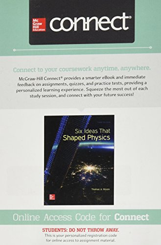 Connect 1 Semester Access Card for Six Ideas that Shaped Physic