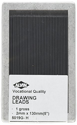 Alvin 5019G-H 2mm Drawing Lead Gross-Pack H by Alvin (Image #2)