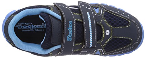 Dockers by Gerli 36SV606 - zapatilla deportiva de material sintético niño azul - Blau (dunkelblau 670)