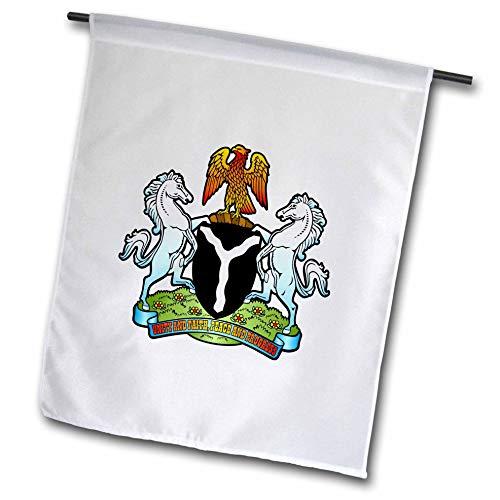 on Designs - Nigeria Coat of Arms - 12 x 18 inch Garden Flag (fl_300154_1) ()