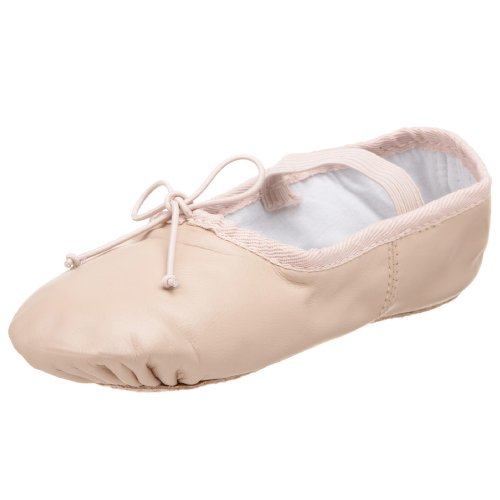 Dance Class B401 Leather One Piece Ballet ,Pink,3.5 M US Big
