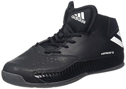 Adidas Nxt LVL SPD V, Zapatos de Baloncesto para Hombre, Negro (Negbas/Ftwbla/Grpudg), 45 1/3 EU (10.5 UK)