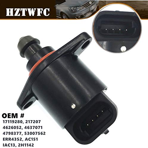 Price comparison product image HZTWFC Idle Air Control Valve IAC 4626052 17119280 AC151 2H1142 Compatible for Jeep - Cherokee Comanche Grand Cherokee Wrangler 4.0