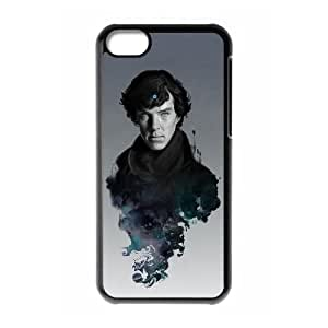 HXYHTY Sherlock Phone Case For Iphone 5C [Pattern-3]